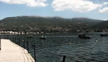 Ohrid sul lago Macedonia