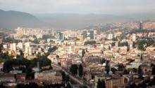 Sarajevo dalla fortezza bianca Bosnia